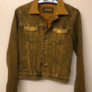 Hudson Women's Denim Jacket Size M made in USA